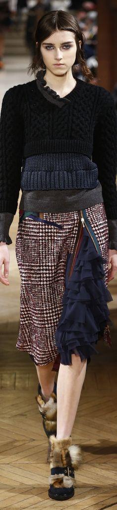 Kolor F-17: three sweater, zipper skirt with ruffles, furry booties. https://tmblr.co/Zuhqqc2Pj0W5R