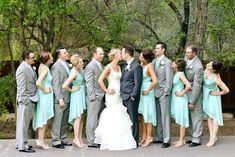 bride and bridesmaids mint - Pesquisa Google                                                                                                                                                                                 More