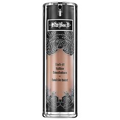 Kat Von D Lock-It Tattoo Foundation: Shop Foundation | Sephora  Love this stuff! A VERY little goes a long way, so use sparingly.