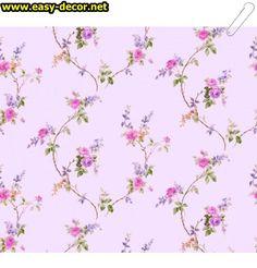 Floral-pattern-wallpaper-15 Floral Pattern Wallpaper, Decor, Art, Decoration, Decorating, Floral Print Wallpaper, Dekorasyon, Kunst, Dekoration