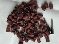 6.35 мм шлифовальные ленты рукавами F DREMEL и ротари Tools100Pcs комплект