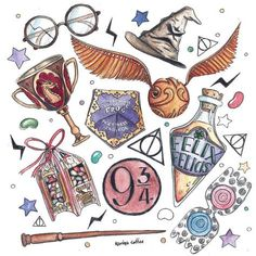 Art journals 824088431802401218 - 66 Ideas Tattoo Ideas Harry Potter Fan Art For 2019 Source by pimininimini Harry Potter Tumblr, Harry Potter Fan Art, Harry Potter Magie, Magia Harry Potter, Harry Potter Bricolage, Harry Potter Thema, Harry Potter Stickers, Cute Harry Potter, Harry Potter Pictures