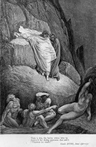 Inferno: Adulatori e Lusingatori: Taide la puttana. Gustave Dore, Milton Paradise Lost, Gravure, Aesthetic Art, Wallpaper S, Fairy Tales, Horror, Illustration Art, Character Design