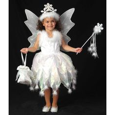 Take a look at this White Snowflake Fairy Dress - Toddler & Girls by Princess Paradise on today! Snowflake Dress, White Snowflake, Snowflakes, Fairy Fancy Dress Costume, Fairy Dress, Fairy Costumes, Toddler Girl Dresses, Flower Girl Dresses, Toddler Girls
