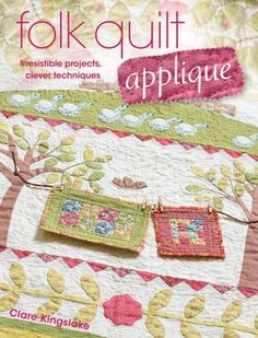 These cute little quilts have inspired me to try a quilt with flaps that reveal little surprises under each one.