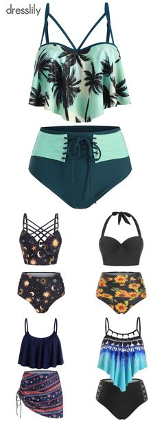Discover the range of women's swimwear and beachwear at dresslily. Browse the latest bikinis, tankinis, bathing suits, and cover ups. Order now at dresslily. Swimsuits For Teens, Modest Swimsuits, Beachwear For Women, Suits For Women, Holiday Beach, Tankinis, Bathing Suits, Women's Swimwear, Cute Outfits