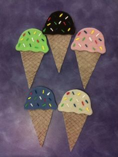 What Happens In Storytime...: Flannel Friday - Ice Cream