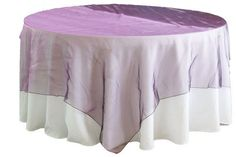 Organza Table Overlay - Apple Red