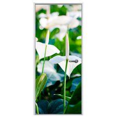 Deursticker Witte Bloemen | Een deursticker is precies wat zo'n saaie deur nodig heeft! YouPri biedt deurstickers zowel mat als glanzend aan en ze zijn allemaal weerbestendig! Verkrijgbaar in verschillende afmetingen.   #deurstickers #deursticker #sticker #stickers #interieur #interieurprint #interieurdesign #foto #afbeelding #design #diy #weerbestendig #bloem #bloemen #natuur #wit #wittelelies #lelies #lelie