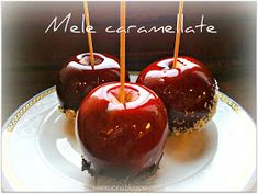 Vivi in cucina: Mele caramellate Halloween Desserts, Halloween Party, Star Chef, Best Banana Bread, Caramel Apples, Trick Or Treat, Biscotti, Sweet Dreams, Party Time