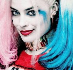 Margot Robbie as Harley Quinn Suicide Squad O Joker, Joker Und Harley Quinn, Harley Quinn Cosplay, Arlequina Margot Robbie, Margot Robbie Harley Quinn, Margo Robbie, Kings & Queens, Dc Comics, Image Deco