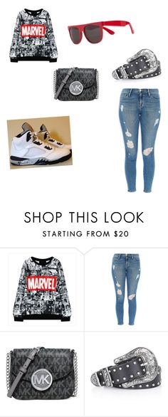 """""""Untitled #60"""" by mblankenship122874 ❤ liked on Polyvore featuring Frame Denim, Michael Kors, Topshop, RetroSuperFuture, women's clothing, women, female, woman, misses and juniors"""