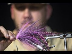 How to tie a fly to catch the elusive pikes and muskies - YouTube