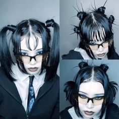 Hair Inspo, Hair Inspiration, Hand Reference, Rich Girl, Lolita Fashion, Cyber, Bangs, Anatomy, Archive