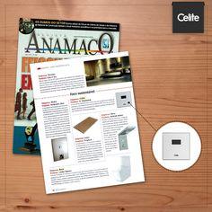 A revista Anamaco também trouxe os destaques da Revestir 2015, entre eles a válvula e-Electronic, que economiza até 60% de água!