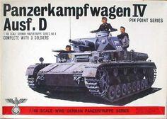 Plastic Model Kits, Plastic Models, Tank Warfare, Panzer Iv, Old Models, Toy Soldiers, Box Art, World War Two, Scale Models