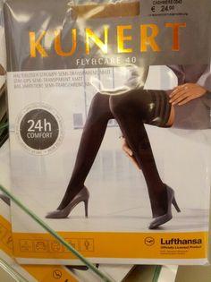 Lufthansa macht jetzt in Damenstrumpf #Diversifikation | Lufthansa's marketing pantyhose!?! Weird