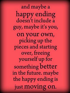 maybe a happy ending...