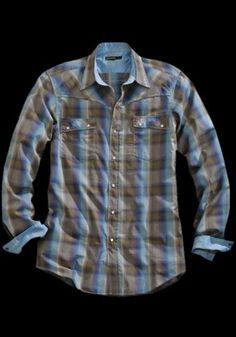 XX-7771 Shale : Tin Haul® Western Shirt