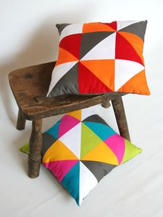 Colorful cushions, pillows