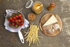 Pasta al Pesto di Pomodori