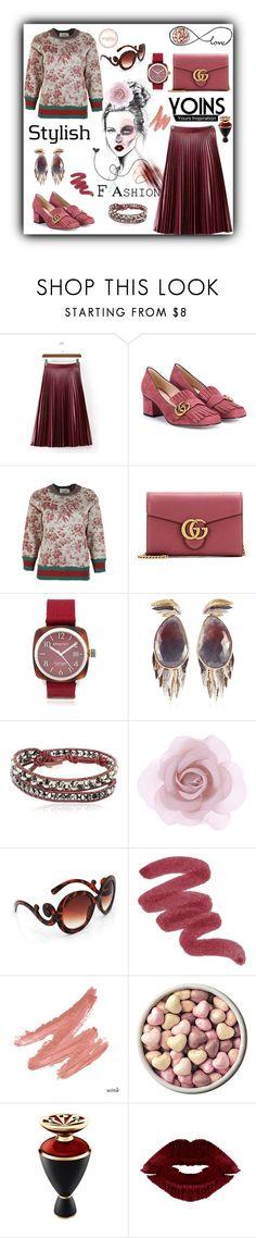 """Fashion inspiration"" by zabead ❤ liked on Polyvore featuring Cuero, Gucci, FLORIAN, Briston, Lama Hourani, Colana, Accessorize, Bulgari, women's clothing and women's fashion"