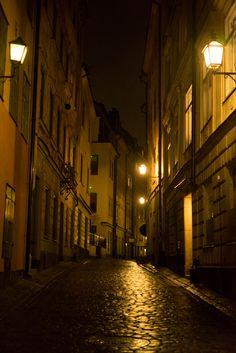 Gamla Stan by night 1