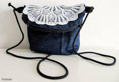 Pieni farkkulaukku / A little denim bag