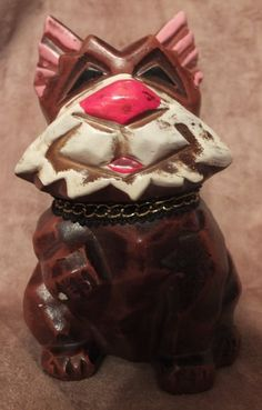 Vintage Napcoware Dog Coin Bank Napco by MoonbearConnections
