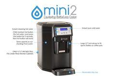 Mini BottleLess Water Cooler Features