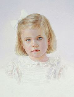 Family Paintings - Girls Portrait Gallery | Portraits Inc.