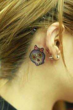 A new skull tattoo!