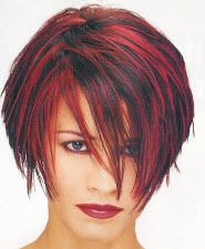 makes me want to grow my hair back out and do the red again in my hair.....short layered haircut styles - Fetch Hairstyles - Zimbio