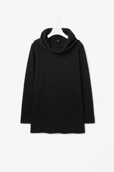 COS | Long draped neck top