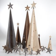 SilenTree® 3 Modelle (StilAltholz, Fichte, Zirbe) - 3 Größen (60-110-190cm) Christmas Tree Decorations, Christmas Trees, Xmas, Home Decor, Christmas Crafts, Objects, Old Wood, Bricolage, Christmas Decorations