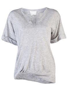 tucked front t-shirt sweater ++ 3.1 phillip lim