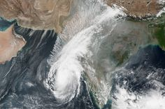 Cyclone Ockhi  : Image of the Day : NASA Earth Observatory