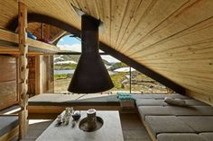 interior of hobbit cabin