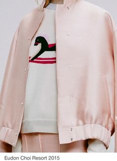 TRIWA FASHION INSPO - A bomber jacket can never go wrong, the perfect shade of pink and a fun print detail!