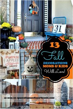 Fall Decorating Ideas Moms and Kids will Love - Spaceships and Laser Beams