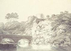 Joseph Mallord William Turner, 'Tonbridge Castle, Kent' c.1794