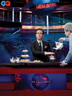 John Oliver is a beast.