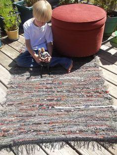 Pendleton Wool Rug Handwoven Woodland Multi 33x51. $70.00, via Etsy.