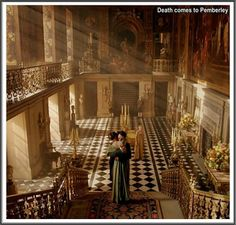"""This is from """"Death comes to Pemberly""""... the mini-series was so so but the use of the house is gorgeous."""