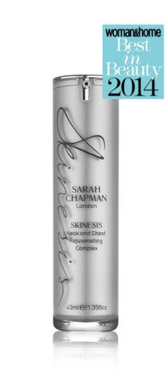 Sarah Chapman - Neck and Chest Rejuvenating Complex, £54.50 (http://www.sarahchapman.net/neck-and-chest-rejuvenating-complex/)