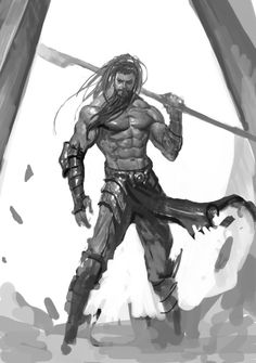 Exceptional Drawing The Human Figure Ideas. Staggering Drawing The Human Figure Ideas. Male Figure Drawing, Figure Drawing Reference, Figure Drawing Tutorial, Fantasy Warrior, Fantasy Art, Warrior Concept Art, Character Design References, Character Art, Avatar Picture