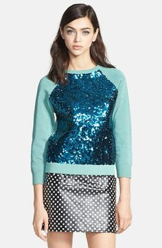 09e371af08c Love this idea. — MARC BY MARC JACOBS  Gretta  Sequin Sweater on nordstrom