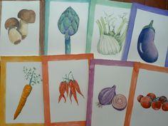 illustrazioni acquarello verdure di LabLiu su Etsy #mushroom #artichoke #eggplant #fennel #carrot #chili #onion #tomato #illustration #vegetable #vegetables #vegetarian #vegan #food #home #cooking #watercolor #kitchen #fungo #carciofo #finocchio #melanzana #carota #peperoncino #cipolla #pomonodoro #illustrazione #verdure #vegetali #vegetariano #vegano #cibo #casa #cucina #acquerello