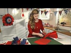 Learn how to make Giant Party Rosettes. Follow our simple step by step instructions to create Giant Rosettes - perfect for a royal wedding party! Visit our Ideas Library for instructions on what you need and how to make them: http://www.hobbycraft.co.uk/Pages/Ideas/Idea.aspx?id=1470