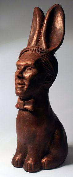 One woman has taken it upon herself to make many people's dreams come true – by turning Benedict Cumberbatch into a chocolate bunny or 'Cumberbunny'.